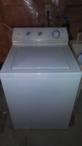 Top loader washer and dryer