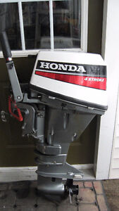 MOTOR AND GAS TANK $1200  WITHOUT TANK $1150  Honda 9.9HP Outboa