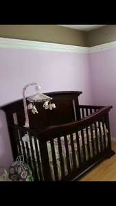Crib 3 in 1 and bamboo mattress