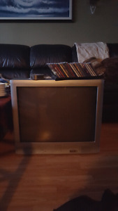 "Entertainment Unit With 33"" TV"