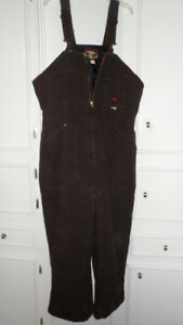 Tough Duck - Bib Overalls Washed Lined