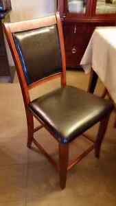 SHOWROOM FURNITURE SALE!!! WOOD & LEATHER DINING CHAIRS $50!!!