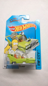 HOT WHEELS THE SIMPSONS THE HOMER DIECAST MINT
