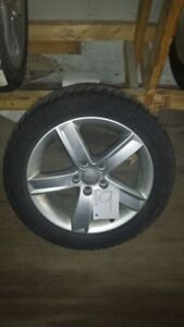 Audi A4/A5 winter wheel and tire set