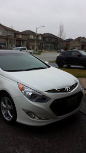 2013 Hyundai Sonata Hybrid Sedan Pearl White for Sale!!