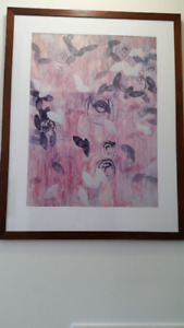 """MOVING SALE! Beautiful Art picture  (approx. 50"""" x 39"""")"""