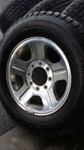 LT 275/65R18 Studdable Winter Tires for F-250/350