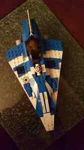 Lego Star Wars Plo Koons Jedi Starfighter (8093) - Complete Set London Ontario image 2