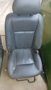 Grey leather statesman seats suit VT, VX, VY, VZ commodores