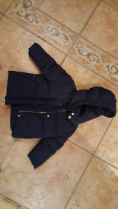 GAP baby down filled winter jacket