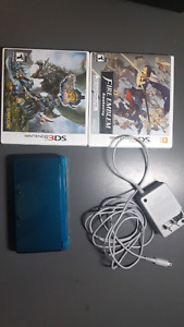 90$ 3DS (Including Charger) + 2 Games