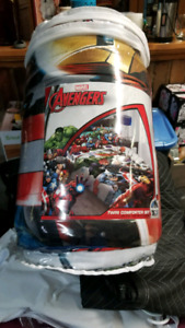 Avengers twin bed in a bag