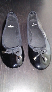 Women's Patent Leather Shoe Summer Flats