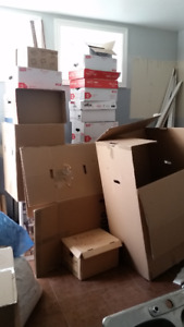 Boxes, boxes and more moving boxes!