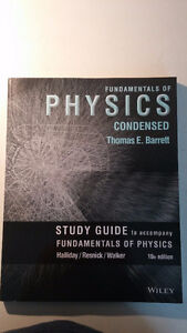 Used Study Guide for Fundamentals of Physics,10th Edition