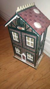 Antique Musical Dollhouse