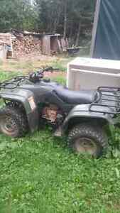 1999 250 fourtrax in very good shape