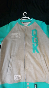DGK sweater and quicksilver