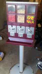 25c candy machines. 5 total.