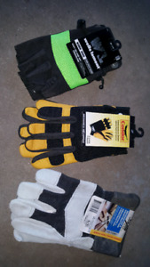 Work gloves new with tags