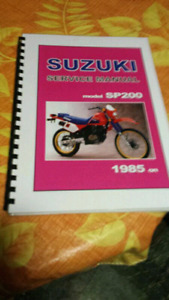 1985 and on SP 200/DR 200 manual