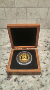 1992 Toronto BLUE JAYS 1oz Pure GOLD Medallion/Coin 74/192