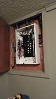 master electrician  / 100A and 200A panel upgrade