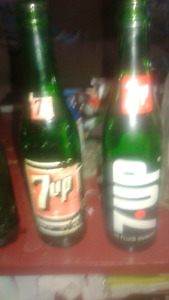 A few Older Pop Bottle's n couple of Beer Stubbs!