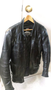 30 Year Old Vintage Leather Motorcycle Jacket