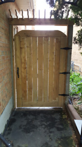 Get a new Gate, Fence, Deck, or Repair  At An Affordable Price