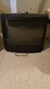 32 inch RCA TV with remote