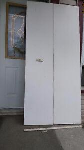 Set de porte pliante