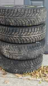 4 Champiro Pro Winter Tires And Steel 5 Bolt Rims off 2007Toyota
