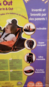 Baby in and out bouncer rocker