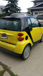 2010 Smart Fortwo Black Hatchback