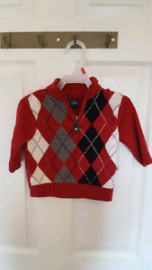 12M Boys sweaters