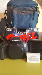 Canon Rebel T5i Body Only - Very Low Shutter Count