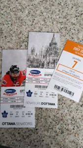 Sens vs. Leafs - 2 Tickets with Parking pass