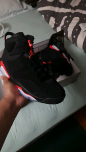 JORDAN 6 INFRARED Size 12. Looking to swap Size 10.5