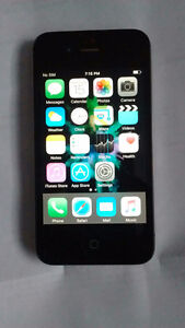 Mint condition black iPhone 4S 16GB