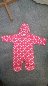 Columbia Bunting Suit 3-6 months