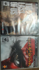Last of us and God of War in Cheap Prices.......9$ each