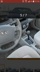 2007 Kia Spectra Sedan
