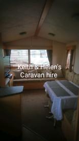 Caravan hire Golden gate Towyn