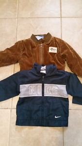 Boys clothing and coats size 2t