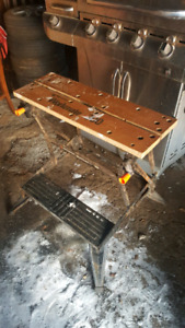 Portable Work Bench! Workmate 300