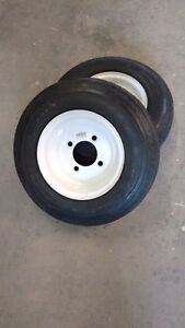 New utility trailer tires