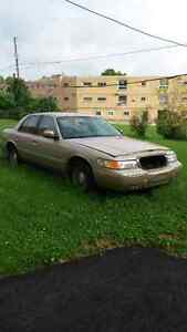 1999 Mercury Grand Marquis As-Is.