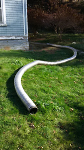 6 inch flexible stainless steel chimney liner