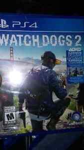 PS4 Watcgdogs 2 unopened